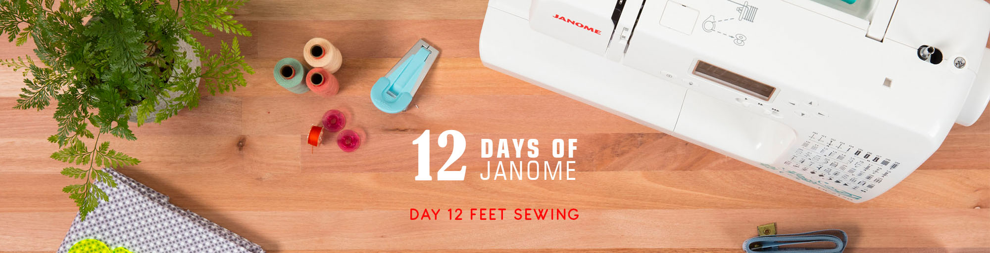 12 Days of Janome Christmas
