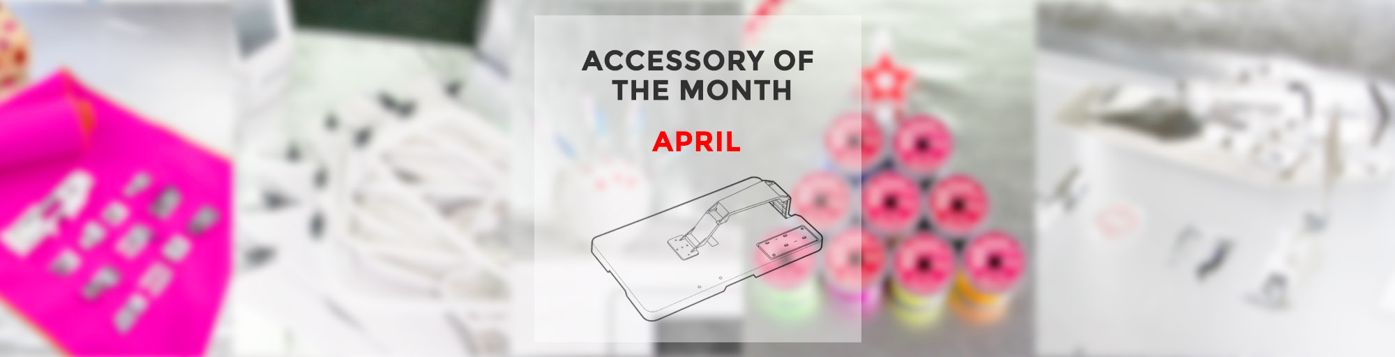 Accessory of the month April Cloth Setter